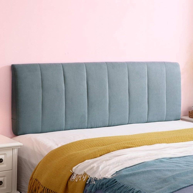 WEN-Cushions Coussin de Dossier Coussin de Dos Coussin de Soucravaten Lombaire éponge de Remplissage Amovible et Lavable, 4 Tailles en Option (Couleur   B, Taille   200  58cm)