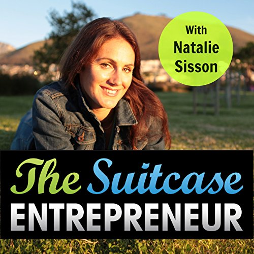The Suitcase Entrepreneur audiobook cover art