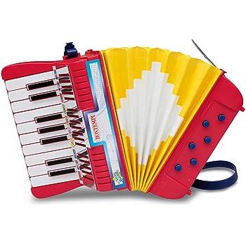 BONTEMPI-AC 1780/N-instrument de musique-Accordéon 17 touches + 6 basses