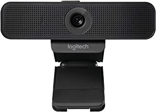 Logitech C925e Full HD Webcam | 1080p/30fps Video Calling | Dual Noise Cancelling Mic | Built-In Safety Lens Cover | Priva...