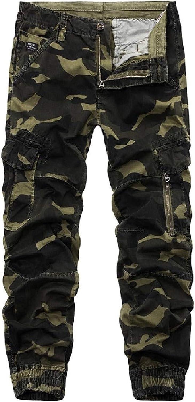CuteRosa Men Cotton Outdoor Utility Pocket Beam Beam Beam Foot Trousers Combat Trouser B07Q62FQJR  Kostengünstig b6988a