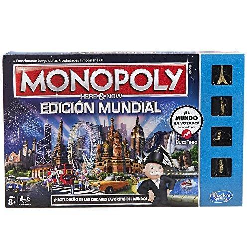 Hasbro Gaming - Juego de Mesa Monopoly Edición Mundial (B2348105) (versión española)