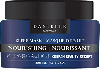 Danielle Overnight Facial Mask with Honey and Green Tea, Nourishing