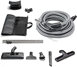 GV 30 Foot Universal Central Vacuum Replacement Hose and Tools with Two Way Switch