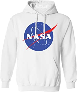 NASA Meatball Logo Worm Hooded Sweatshirt Sweater Pullover - Unisex Hoodie