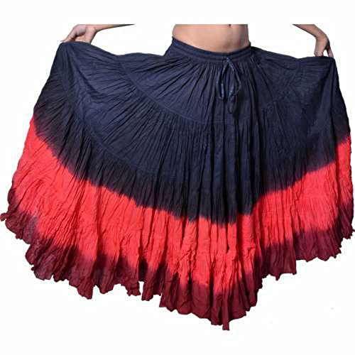 0ad23cc048 Dancers World - Falda de algodón para Mujer Gypsy de 25 Yardas