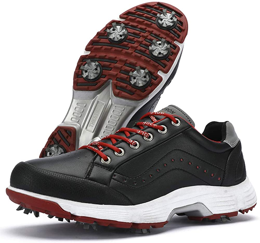 THESTRON 2021 Men Complete Free Shipping Golf Shoes Sport Sales results No. 1 Professional Snea Spikes