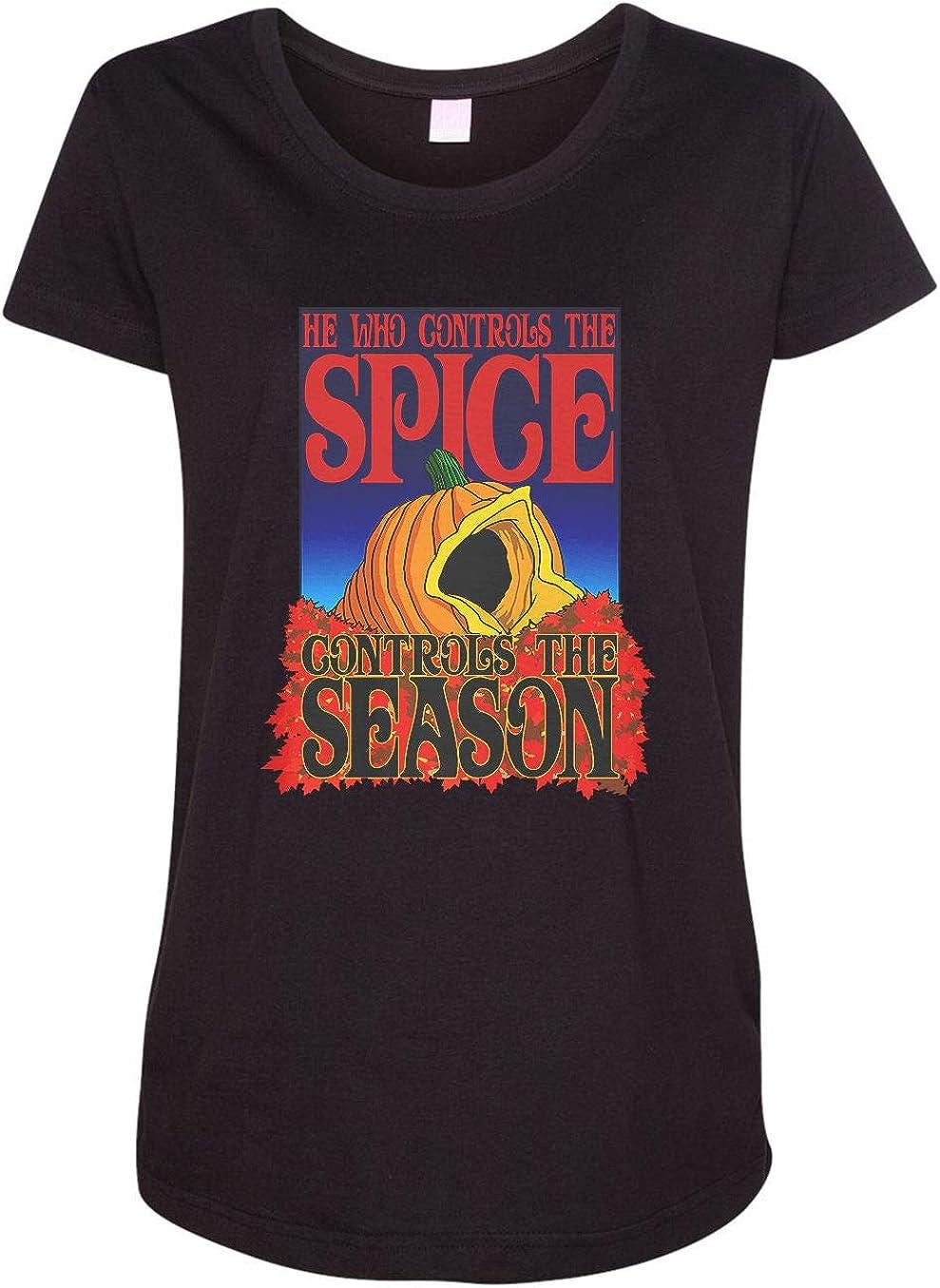 HARD EDGE DESIGN Women's Controls The Pumpkin Spice T-Shirt