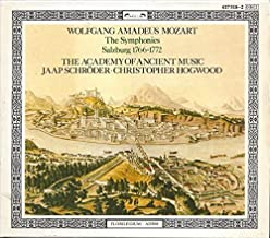 Wolfgang Amadeus Mozart: The Symphonies (Vol. II), Salzburg 1766-1772 - The Academy of Ancient Music / Christopher Hogwood by L` Oiseau-Lyre