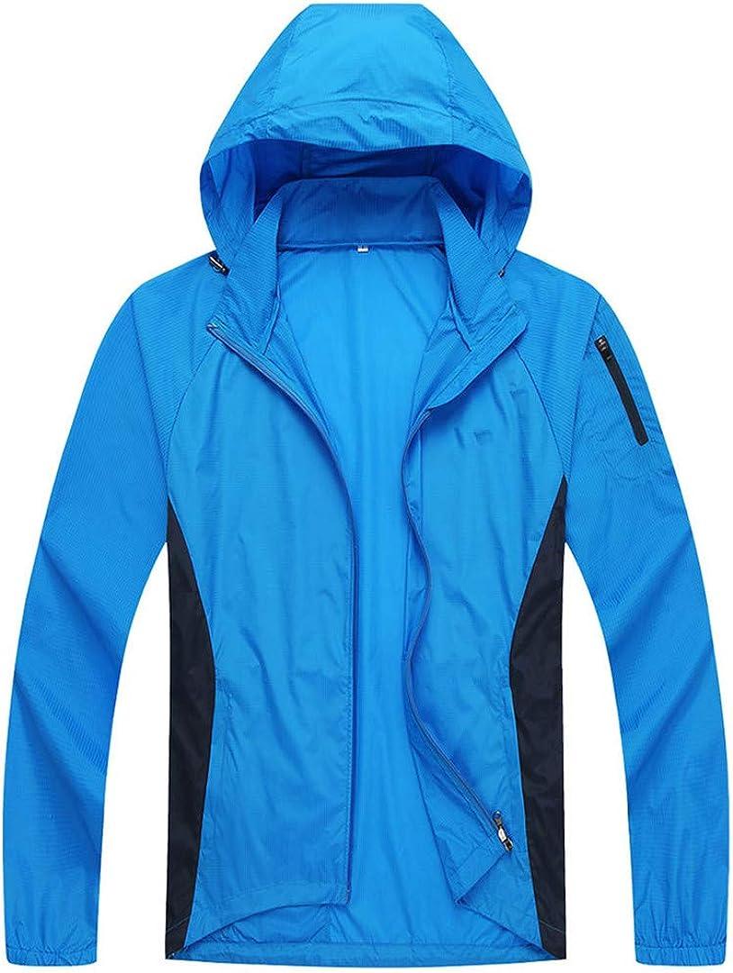Men Cycling Jacket Lightweight Raincoat Outdoor Skin Coat Windproof Windbreaker