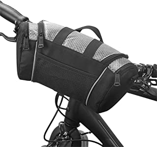 Roswheel Bike Handlebar Bag MTB Riding Cycling Bicycle Front Tube Basket Pack Shoulder Bag