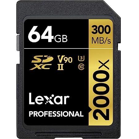 Lexar Professional 2000x 64gb Sdxc Uhs Ii Speicherkarte Computer Zubehör