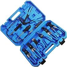 VICASKY 9 peças de ferramentas profissionais de remoção de tubos de água de carro, calibres de conserto de grampos, alicat...
