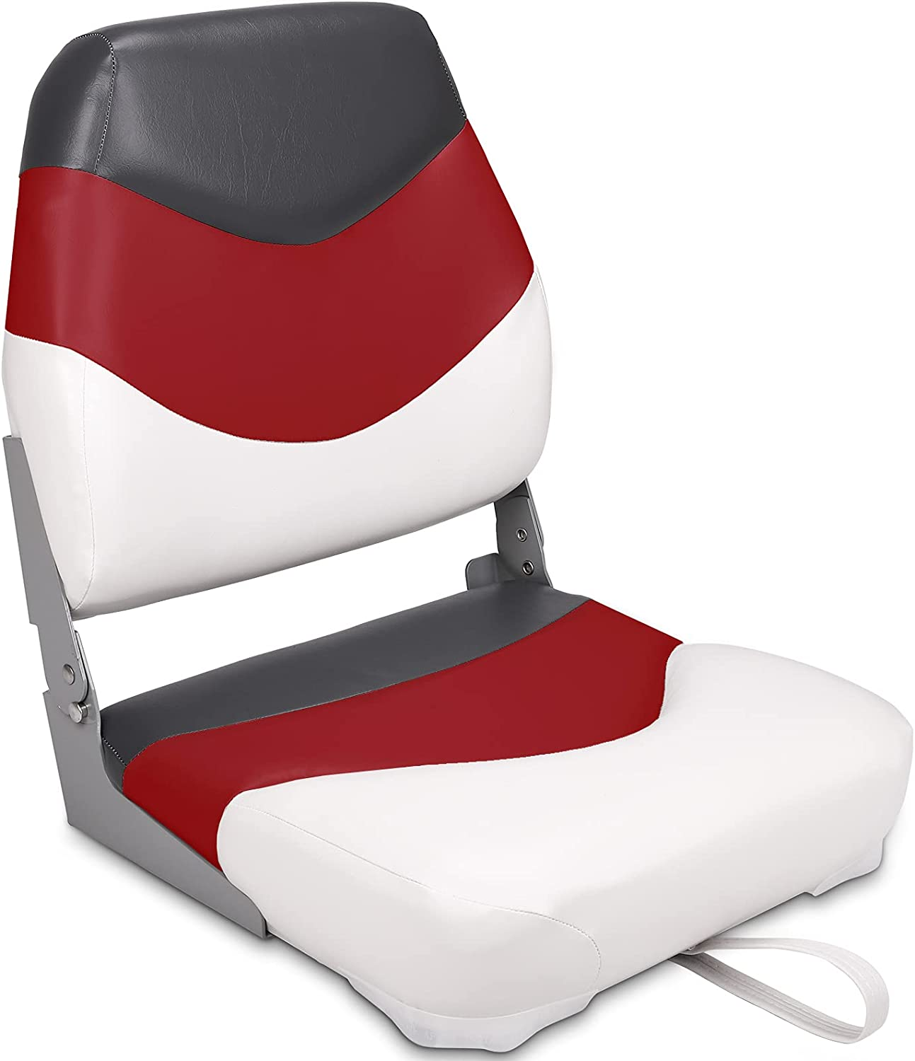Leader Accessories New product!! High Back Folding Seat Fishing 5% OFF Boat