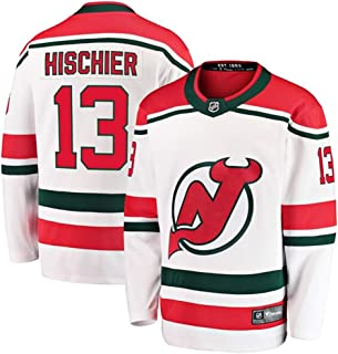 Outerstuff NHL NHL New Jersey Devils Kids /& Youth Boys Nico Hischier Replica Jersey-Home 14-18 Red Youth Large//X-Large