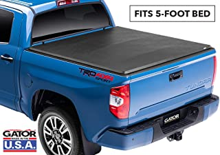Gator ETX Soft Tri-Fold Truck Bed Tonneau Cover | 59404 | fits Toyota Tacoma 2005-15 (5 ft bed)