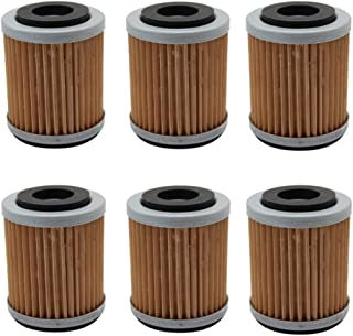Cyleto Oil Filter for GSX1300BK B-KING 2007-2012 GSX1400 2001-2007 Pack of 2