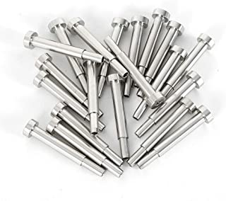 ZHFEISY 20PCS Cable Railing Swage Threaded Stud Tension End Fitting Terminal for 3/16