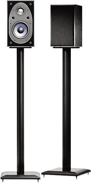 Sanus NF36B 36 Natural Foundations Speaker Stand Black