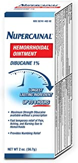 Nupercainal Hemorrhoidal Ointment, 2 Ounce, Pale Yellow