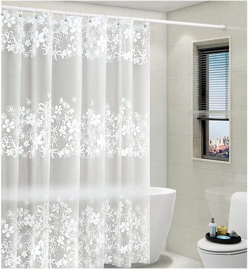 Stylish and Water Bargain sale Repellent Shower Showe Flowers Cu Liner Bombing free shipping shower