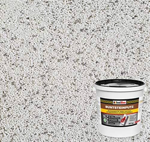 Buntsteinputz Mosaikputz BP70 (weiss, grau) 20kg Absolute ProfiQualität