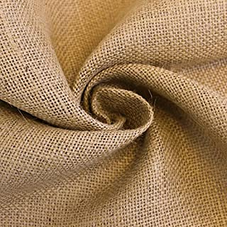 031445574 Natural Burlap Fabric by the Yard 60