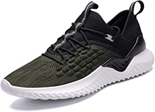 TUOKING Men's Sneakers Breathable Walking Shoes