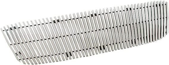 EAG Billet Grille Aluminum Polished 8mm Vertical Bar Cutout 1PC Fit for 01-03 Ford Ranger