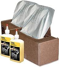$52 » Fellowes Shredder Waste Bags (2 Boxes) and 24 Oz. Shredder Oil Performance Bundle for 125/225/2250 Series