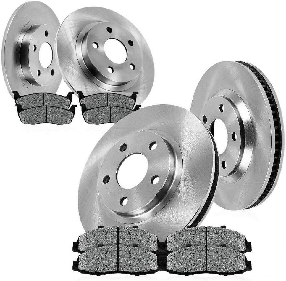 Front Rear Rotors and Metallic IINAW GT1 Pads National 5 ☆ popular uniform free shipping Compatible withGLS