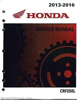 Best crf250l service manual Reviews