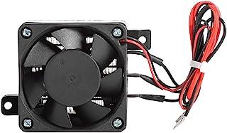Calentador de Aire, Temperatura Constante PTC Ventilador de Aire Calentador de Aire de Espacio Pequeño Incubadora de Calefacción para Calentador, Humidificador, Etc(12V 150W)