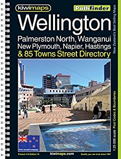 Wellington, Palmerston North, Wanganui, New Plymouth, Napier, Hastings, & 85 Towns Street Directory