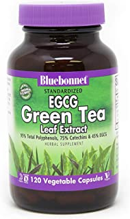 BlueBonnet EGCG Green Tea Leaf Extract Supplement, 120 Count