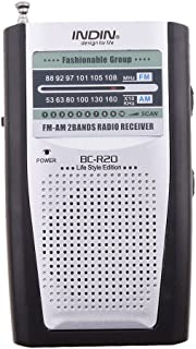 MagiDeal Portable Battery Operated AM/FM Radio Receiver