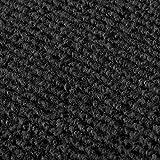 StickandShine Stufenmatte in schwarz eckig für Treppenstufen, Treppenstufenmatte zum aufkleben - 6