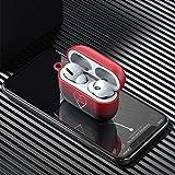 TOPVORK, custodia impermeabile per AirPods per Apple Airpods Pro Bluetooth senza fili con fibbia per AirPods Pro Ptotect Shell, supporto ricarica wireless