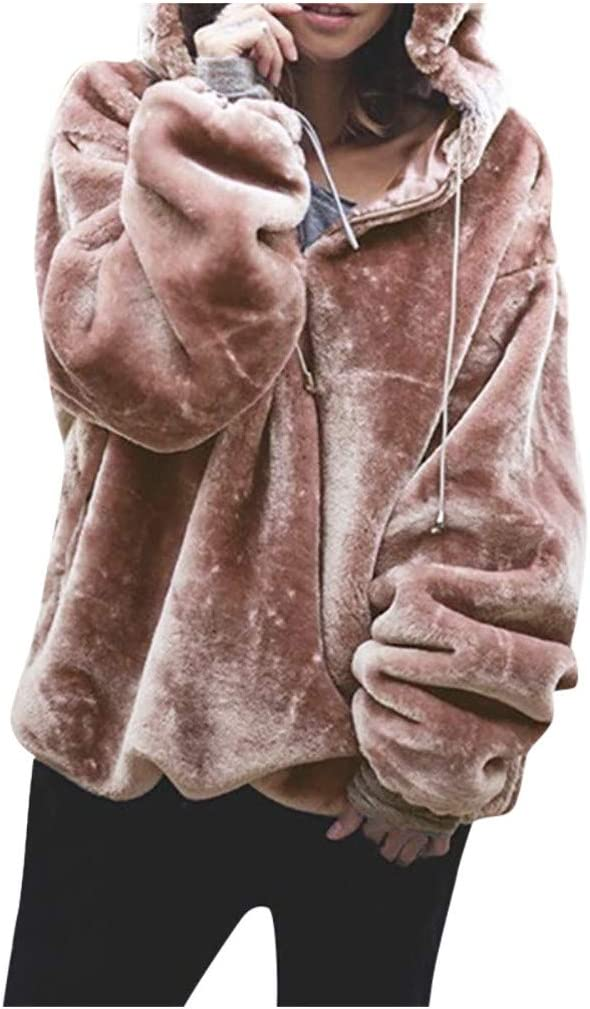 Super beauty product restock quality top! Eoailr Women's Oversized Fleece Hoodie with Store Fuzzy Pockets S Warm
