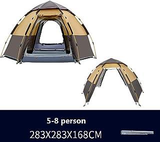 Hengta Tienda de Campaña 3-8 Personas Instantáneas Tiendas Camping Pop Up Automático Impermeable Tiendas para Niños Familia
