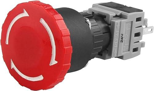 2021 Larcele lowest 16mm Emergency Stop popular Latching Push Button Switch SPDT JTKG-02 sale