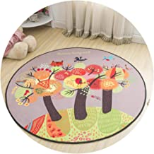 Area Carpet Round Carpet Nursery Rugs Carpets Simple Cartoon Pattern Polyester Material Bedroom Home Swivel Chair Multiple...