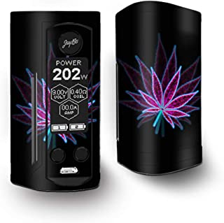 IT'S A SKIN Decal Vinyl Wrap for Wismec Reuleaux RX Gen3 Dual Vape Sticker Sleeve/Pot Leaf Marijuana Psychedelic 3D Trippy