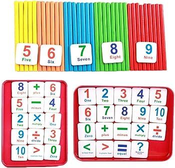 Sasarh Children Wooden Counting Sticks