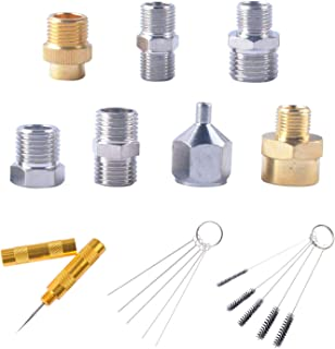 Professional Airbrush Adaptor Fitting Connector Kit 1/4