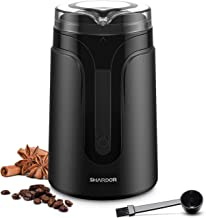 SHARDOR Electric Coffee Grinder Mill with Stainless Steel Blades, 1.4oz/40g, Small Coffee..
