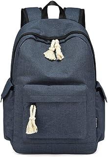 MYXMY Travel Backpack for School Water Resistant Bookbag High School Students Shoulder Bag Harajuku Wild Bag Simple Junior high School Backpack Campus (Color : B)