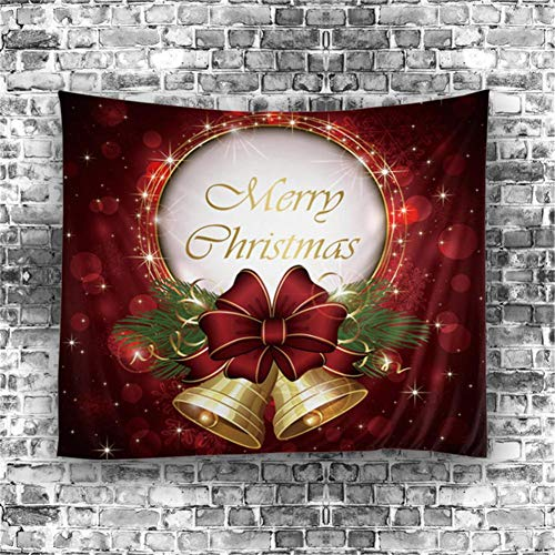 Decoración de Navidad para colgar en la pared, cuadrada, decoración de pared para apartamento, salón, dormitorio, habitación de bebé