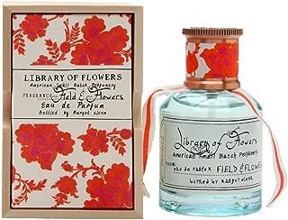 LIBRARY OF FLOWERS Eau De Parfum, Field & Flowers, 1.69 Fl Oz