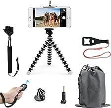 SmilePowo Lightweight Mini Tripod and Universal Smartphone Tripod Adapter, Phone Shutter Remote Control for iPhone, Android Phone,Any Smartphone